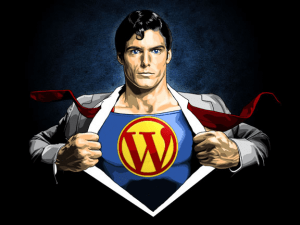 Wordpres-is-Superman
