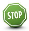 green stop sign Top Earning Blogs   Make Money Online Blogging