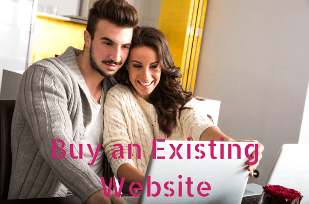 buy an existing website - Clinton Lee