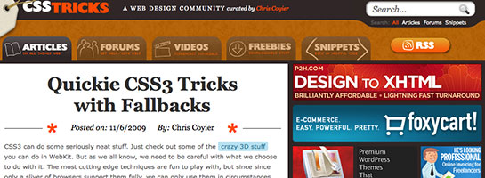 csstricks 20 Websites That Will Make You A Better Blogger