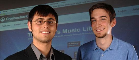 pemilik Search egine musik GrooveShark