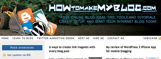 howtomakemyblog 20 Websites That Will Make You A Better Blogger