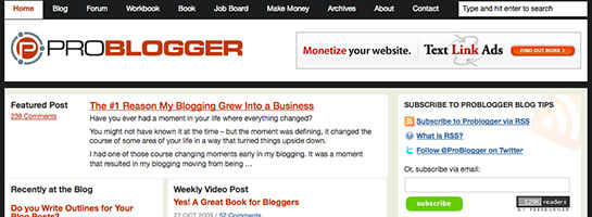 problogger 20 Websites That Will Make You A Better Blogger