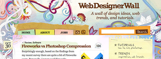 webdesignerwall 20 Websites That Will Make You A Better Blogger