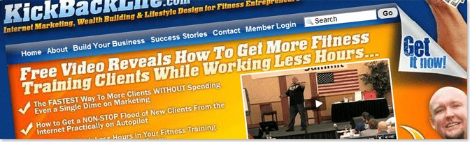 KickBackLife1 أمثلة عن مدونات تكسب آلاف الدولارات سنوياً من الانترنت