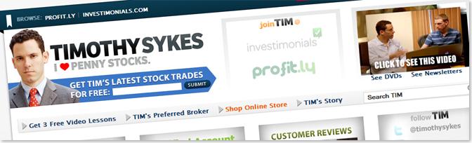 Timothy Sykes1 أمثلة عن مدونات تكسب آلاف الدولارات سنوياً من الانترنت