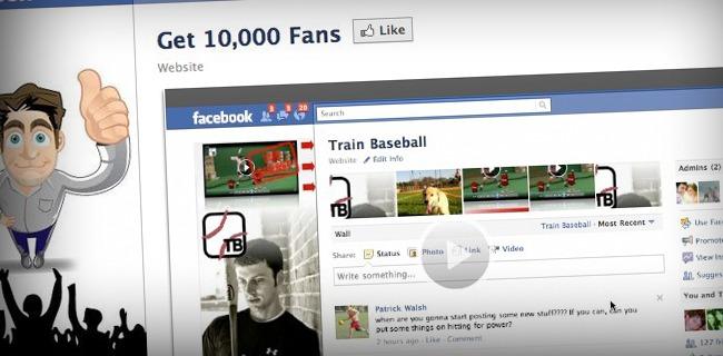 Facebook Fan Page Get 10,000 Fans