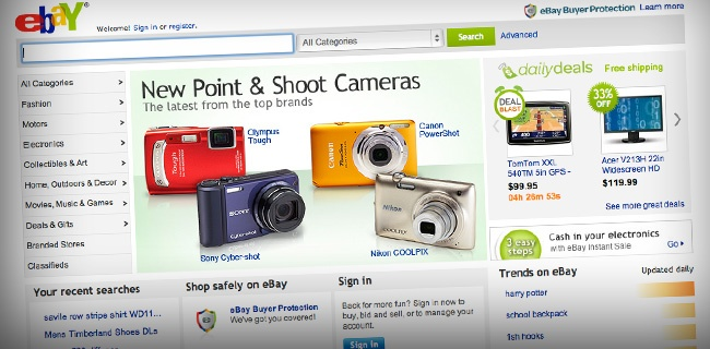 ebay1 20 Websites Making The Most Money