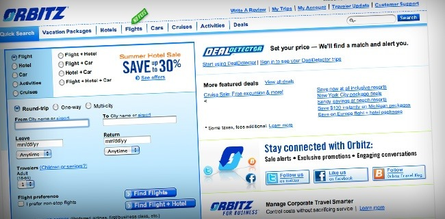 orbitz 20 Websites Making The Most Money