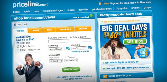 priceline 20 Websites Making The Most Money