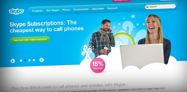 skype 20 Websites Making The Most Money