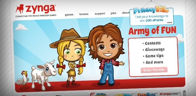 zynga 20 Websites Making The Most Money