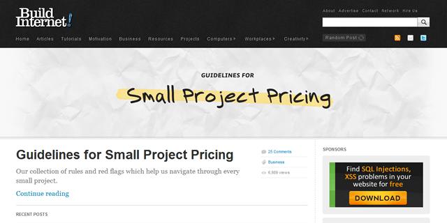 Build Internet Blog Design