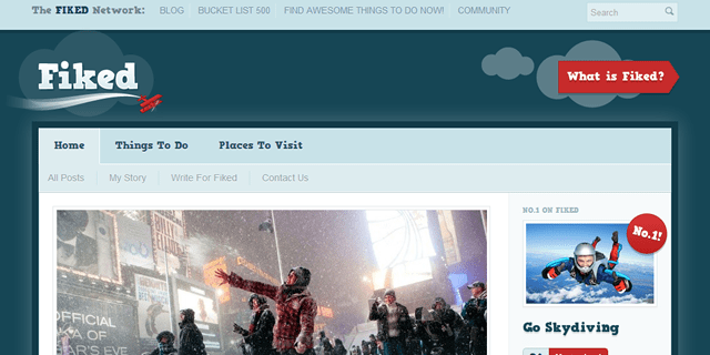 Fiked Blog Design