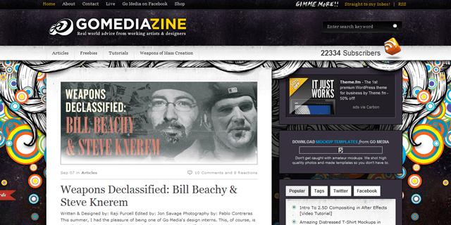 Go Media Blog Design