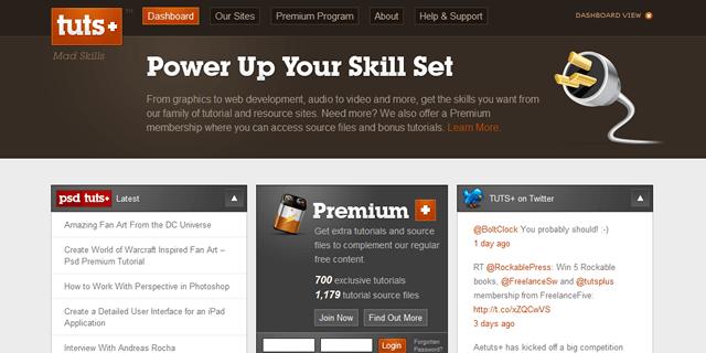 Tuts Plus Blog Design