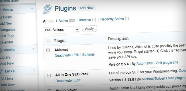 plugins page 11 Reasons Why My Blog Is Better Than Yours