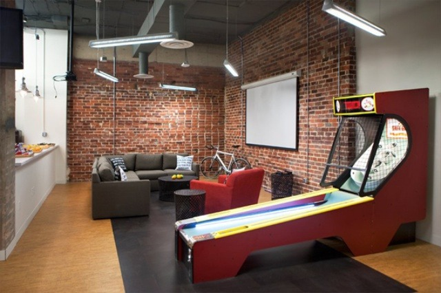 Top 20 most awesome company offices how to make money online Cool gaming room designs