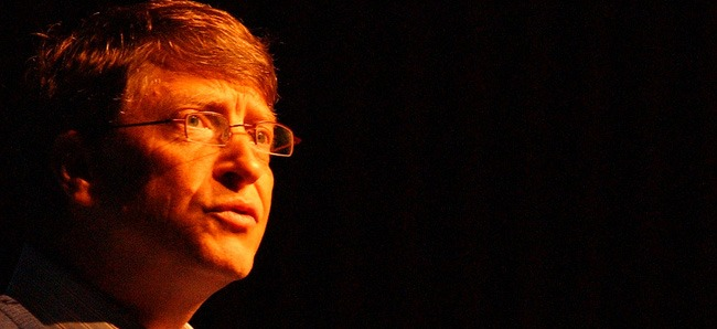 Bill Gates Looking Forward