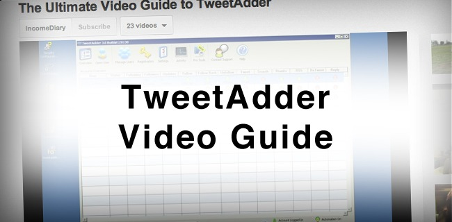 tweetadder video