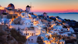 Non Optimized Image - Oia Greece Santorini