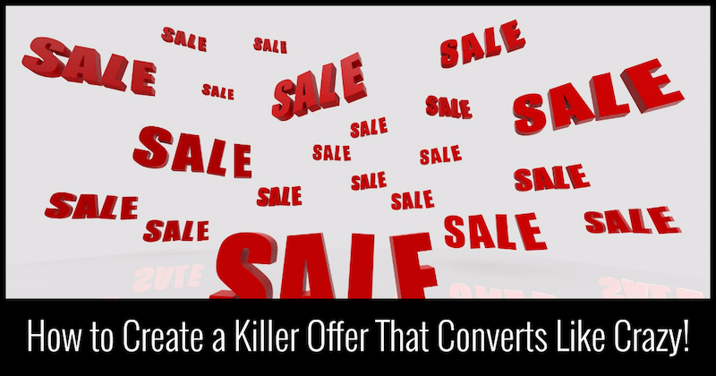 copywriting secrets for creating an oustanding offer