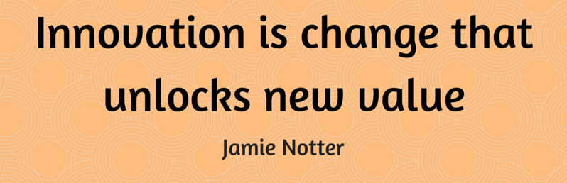 Affliate Marketing - Innovation is change that unlocks new value