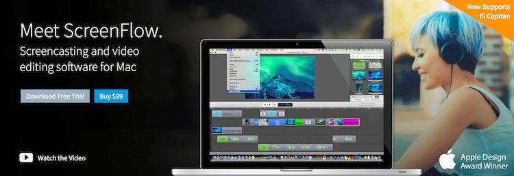 screenflow video recording