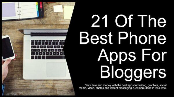 apps for blogging