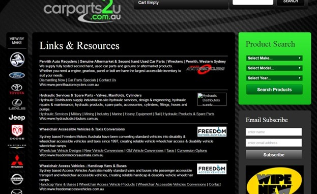 resource pages