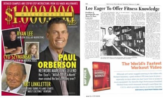 Ryan Lee Featured in Millionaire Magazine