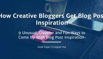 Get Blog Post Inspiration