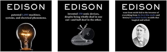 Edison famous entrepreneur