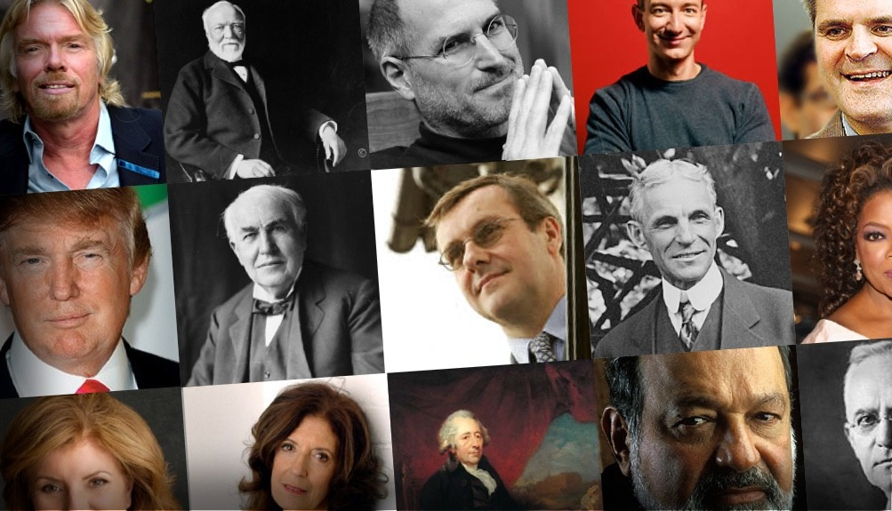 Top 30 Influential Entrepreneurs Of All Time Successful Entrepreneurs