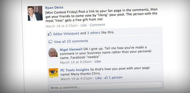 7 Tips To Creating a High Converting Facebook Fan Page - How