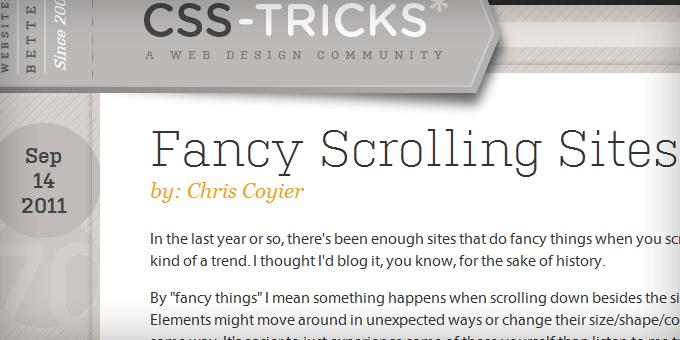 Post Meta Data Styling CSS Tricks