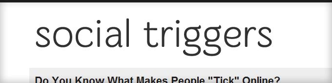 Social Triggers Blog