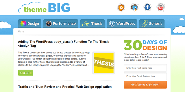 Theme Big Blog Design
