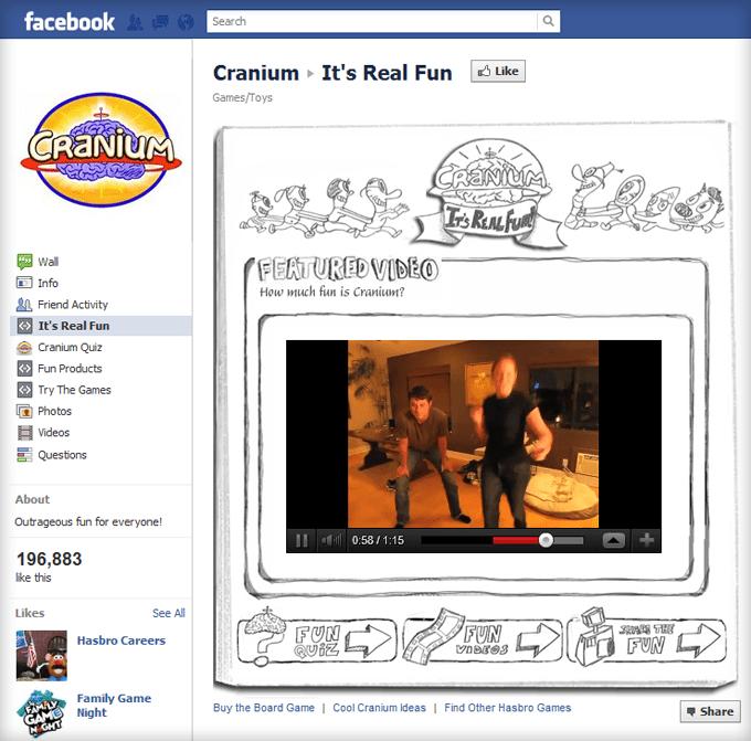 Cranium Facebook Page