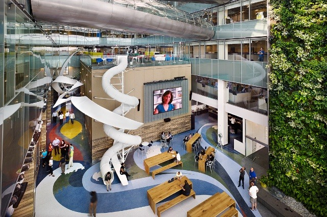 Top 20 Most Awesome Company Offices