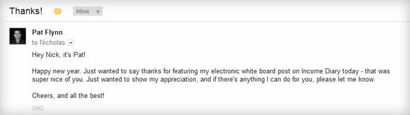 Pat Flynn Email