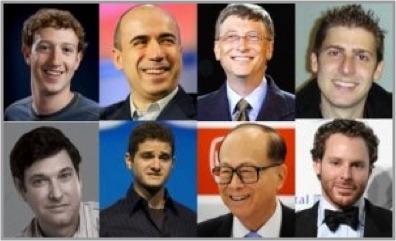 Top 30 Richest Young Entrepreneurs   Famous Entrepreneurs