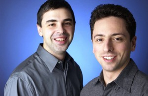 Larry Page and Sergey Brin get along now
