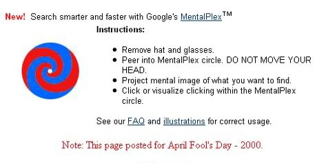 Google's MentalPlex instructions