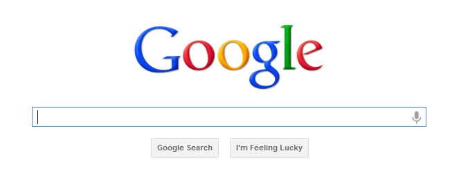 Google's home page has changed little in the last decade.