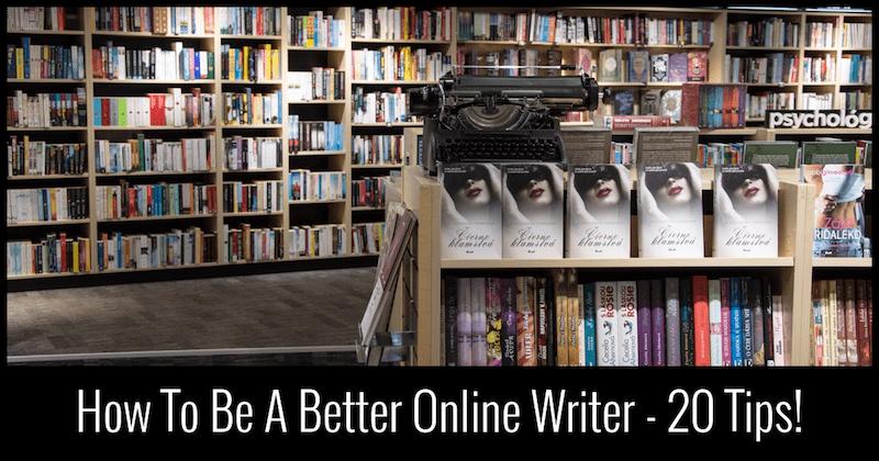 online writer, blogger