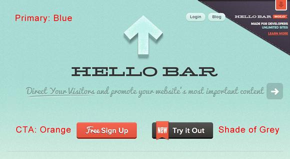 Colors - Hello Bar