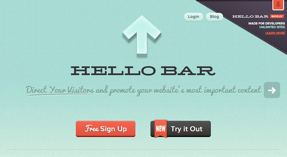 Goal-Driven Design Decisions - Hello Bar