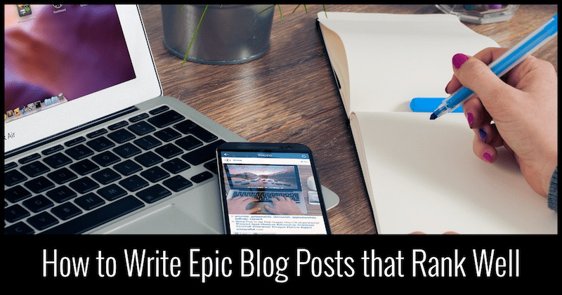 blog posts that rank well