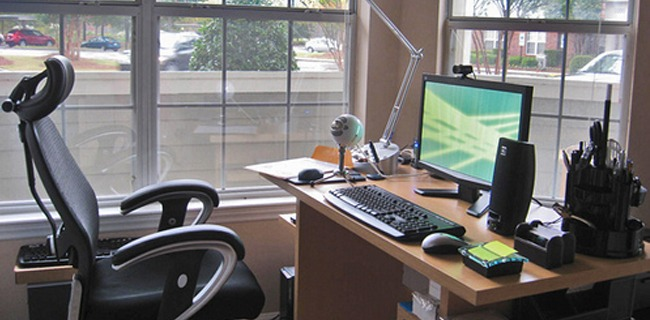 how to have a healthier and more productive home office